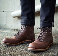 Red Wing Heritage Iron Ranger Cap-Toe Boots - Leather Only $149