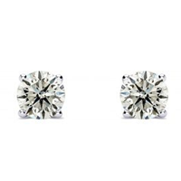 1/4Ct Diamond Studs In 14K White Gold Only For $83.29 Per Pair