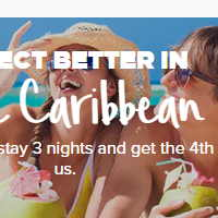 Stay 3 Nights And Get The 4Th Night On Us, In The Caribbean. Enh